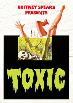 Canvas-taulu toxic