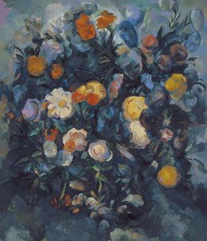 Canvas-taulu Vase of Flowers, 19th