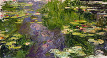 Waterlilies Canvas-taulu