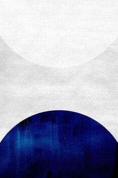 Canvas-taulu White & cobalt