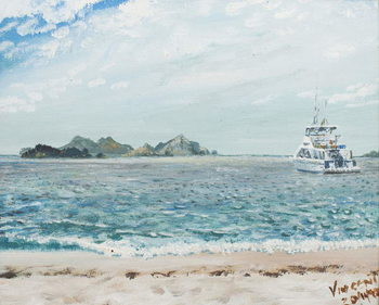 Canvas-taulu Whitsunday Islands Australia, 1998,