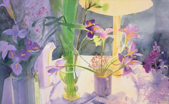 Canvas-taulu Winter Iris