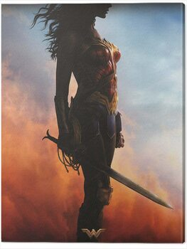 Canvas-taulu Wonder Woman - Teaser