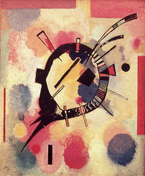 Yellow Centre, 1926 Canvas-taulu