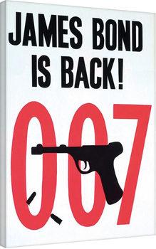 007 ja Kultasormi - Sketch Canvas-taulu