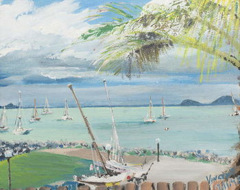 Airlie Beach, Australia, 1998, Canvas-taulu