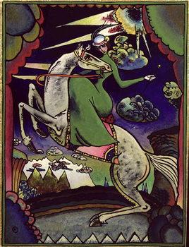Amazonka in the Mountains, 1918 Canvas-taulu