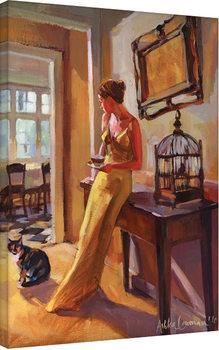 Ashka Lowman - Autumn Gold II Canvas-taulu