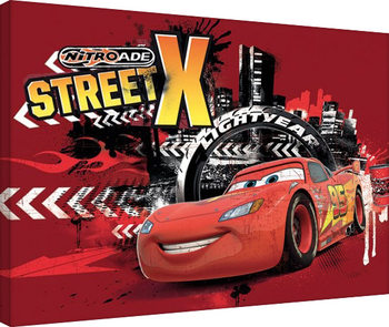 Autot - Street X Canvas-taulu