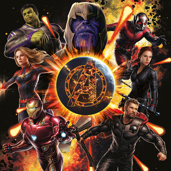 Avengers: Endgame - Explosion Canvas-taulu