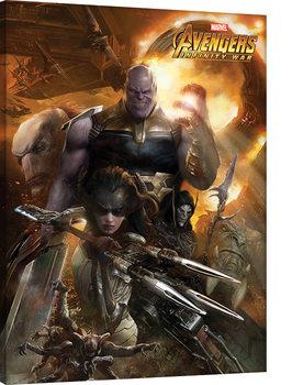 Avengers Infinity War - Children of Thanos Canvas-taulu