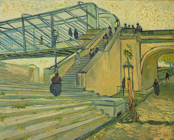 Bridge of Trinquetaille, 1888 Canvas-taulu