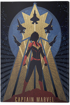 Captain Marvel - Deco Canvas-taulu