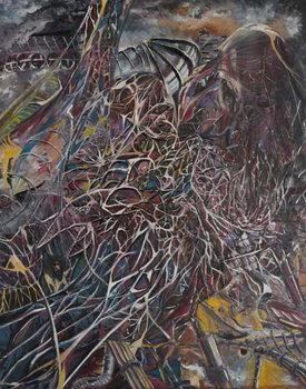 Cosmos Brainwaves, 2014, Canvas-taulu