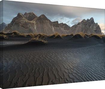 David Clapp - Stokksnes Beach, Iceland Canvas-taulu