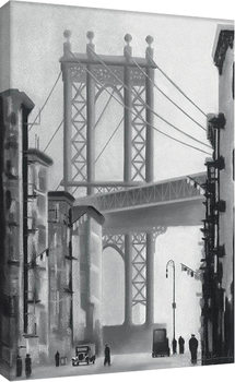 David Cowden - Manhattan Morning Canvas-taulu