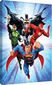 DC Comics - Justice League - Supreme Team Canvas-taulu