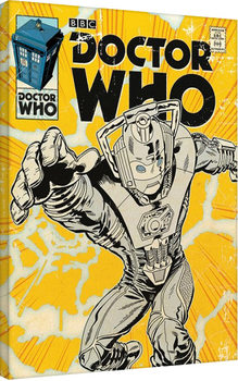 Doctor Who - Cyberman Comic Canvas-taulu