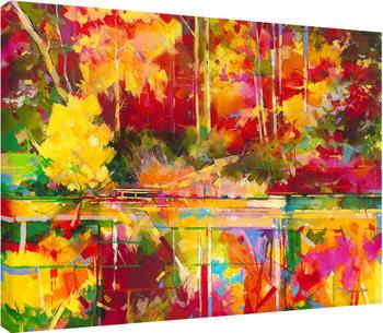Doug Eaton - Early Evening at Waterloo Screens Canvas-taulu
