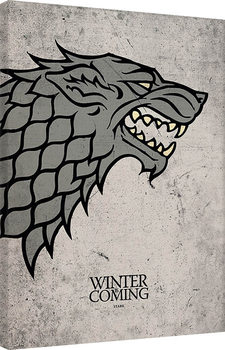 Game of Thrones - Stark Canvas-taulu