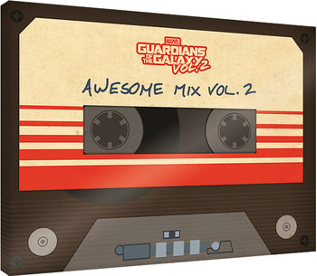 Guardians Of The Galaxy Vol. 2 - Awesome Mix Vol. 2 Canvas-taulu