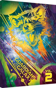 Guardians Of The Galaxy Vol. 2 - Rocket Canvas-taulu