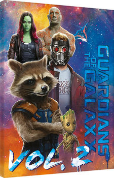 Guardians Of The Galaxy Vol. 2 - The Guardians Canvas-taulu