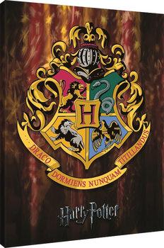 Harry Potter - Hogwarts Crest Canvas-taulu