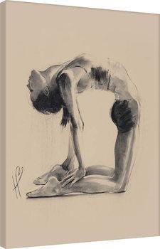 Hazel Bowman - Camel Pose Canvas-taulu