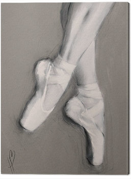 Hazel Bowman - Dancing Feet I Canvas-taulu