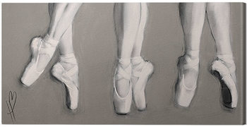Hazel Bowman - Dancing Feet Canvas-taulu