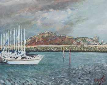 Howth, Ireland, 2001, Canvas-taulu