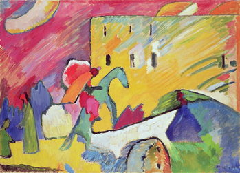 Improvisation III, 1909 Canvas-taulu