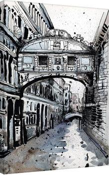 Jack the Flipper - Venice IV Canvas-taulu