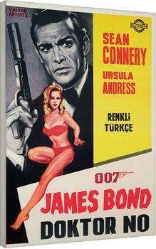James Bond - Doktor No Canvas-taulu
