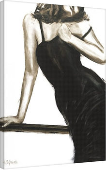 Janel Eleftherakis - Little Black Dress III Canvas-taulu