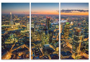 Jason Hawkes - London at Night Canvas-taulu