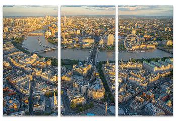 Jason Hawkes - London Evening Canvas-taulu