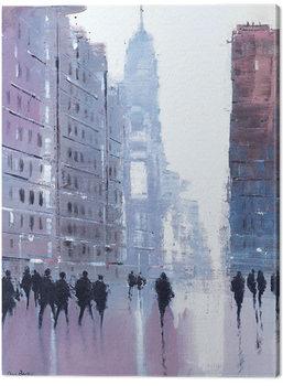 Jon Barker - Manhattan Reflections Canvas-taulu