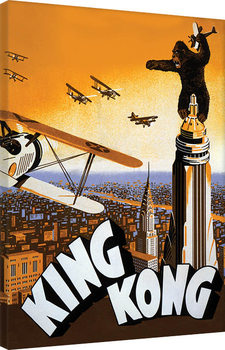 King Kong - Plane Canvas-taulu