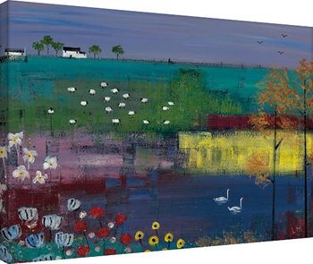 Lee McCarthy - Swan Lake Canvas-taulu