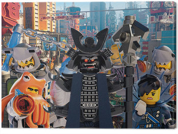 Lego Ninjago Elokuva - Garmadon Group Canvas-taulu