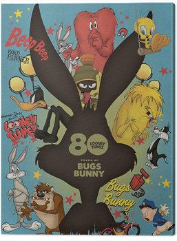 Looney Tunes - Bugs Bunny Crazy Saturday Morning Cartoons Canvas-taulu