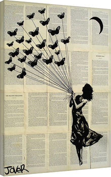 Loui Jover - Butterflying Canvas-taulu