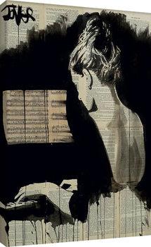Loui Jover - Her Sonata Canvas-taulu