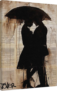 Loui Jover - Rain Lovers Canvas-taulu