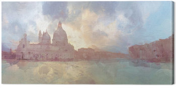 Malcolm Sanders - The Grand Canal Canvas-taulu