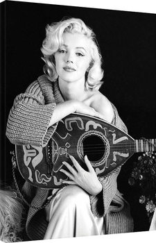 Marilyn Monroe - Lute Canvas-taulu