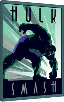 Marvel Deco - Hulk Canvas-taulu