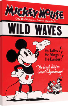 Mikki Hiiri (Mickey Mouse) - Wild Waves Canvas-taulu